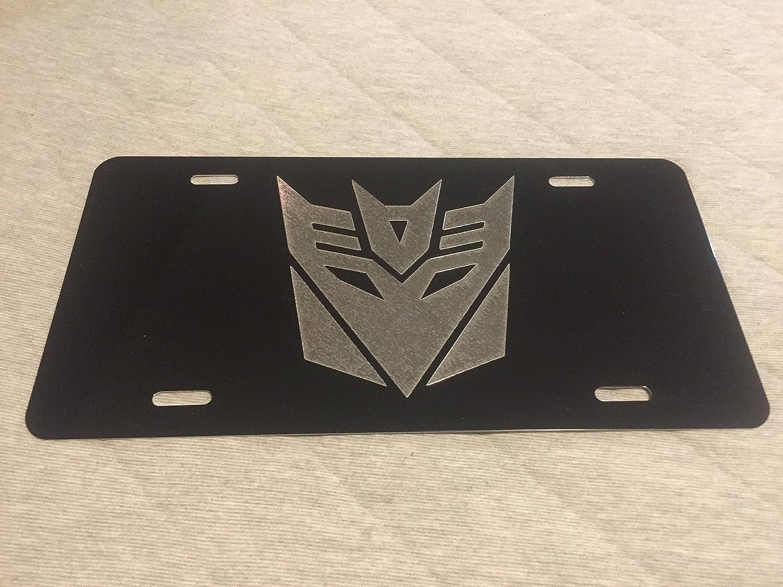 Transformers Car License Plate Robot disguise Autobots Decepticons Transformer