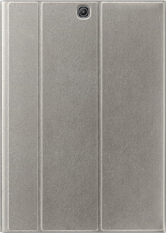 Custodia cover horizontal flip trifold silk texture eco pelle NERO con stand per Samsung Galaxy Tab S2 9.7 T815 pannetto pulisci schermo digital bay pennino capacitivo pellicola protettiva