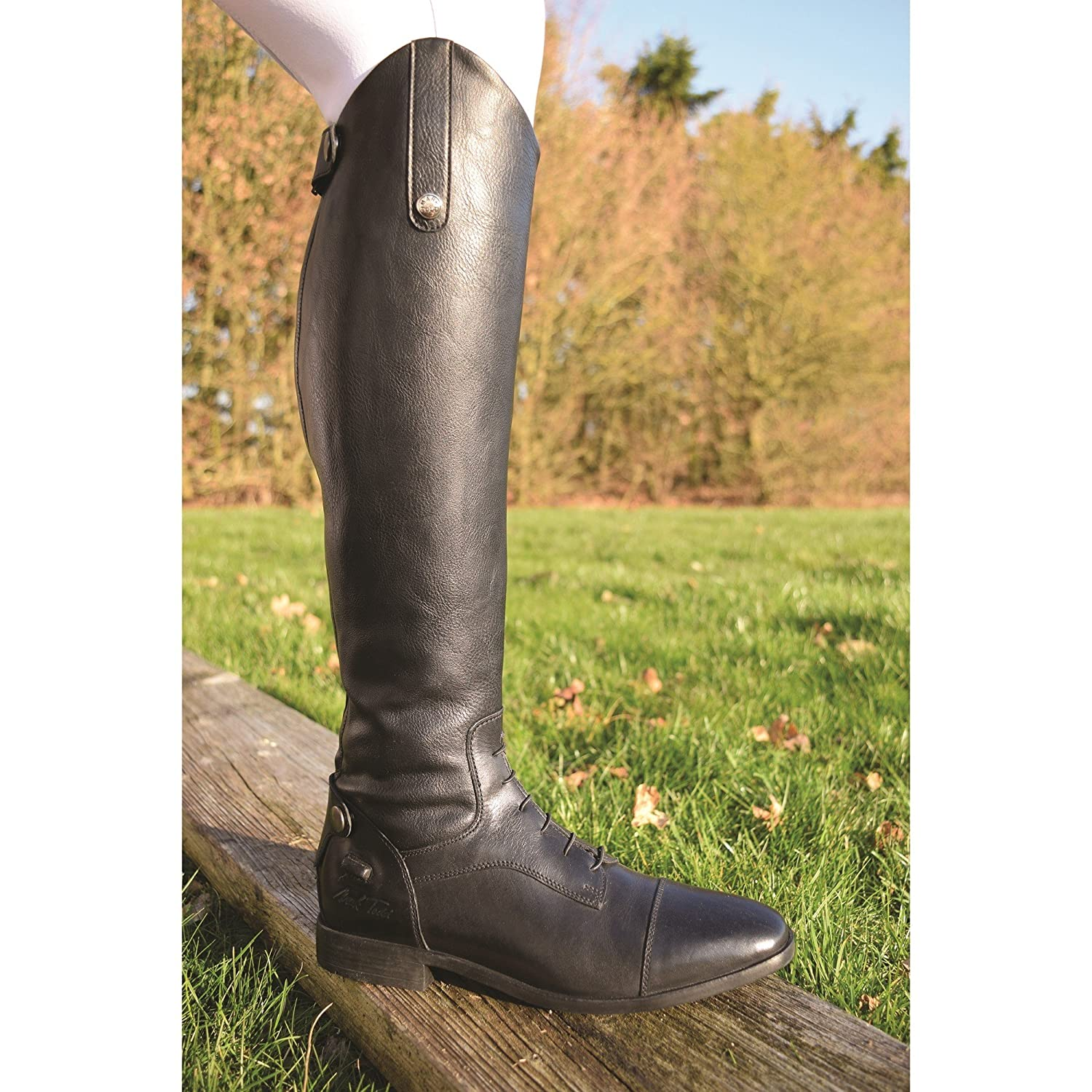 Mark Todd Sport Competition Field Leather Long Long Long Riding Stiefel 210da0