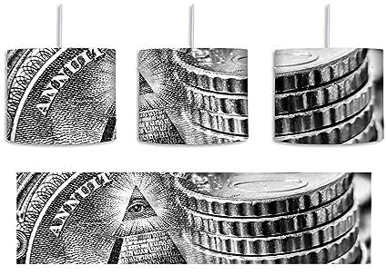 Illuminati - Lámpara de techo (casquillo E27, 30 cm de ...