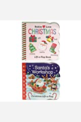 2 Pack Christmas Lift-a-Flap Board Books (Chunky Lift a Flap) Board book
