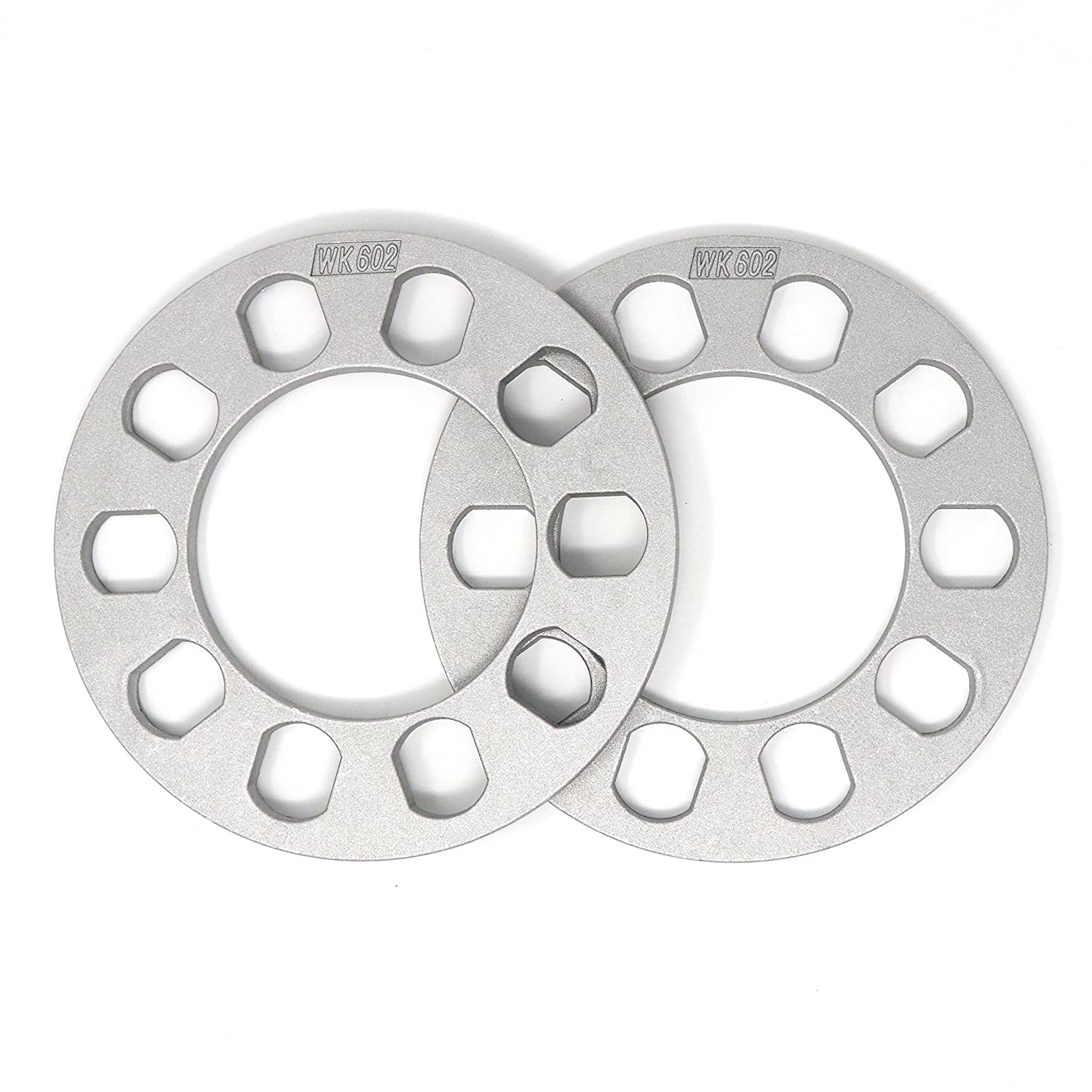 "Amazon.com: White Knight 602-2 Aluminum Alloy 5 x 4.5""-5"" Wheel Spacer,  (Pack of 2): Automotive"