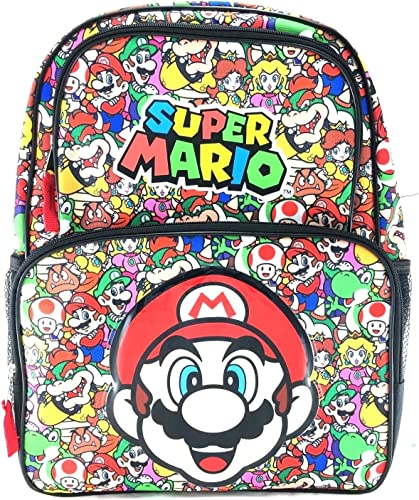 New 2017 Super Mario 16 Backpack