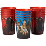 American Greetings Star Wars Episode VII Plastic Party Cups (12 Count), 16 oz