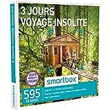 SMARTBOX - Coffret Cadeau - 3 JOURS - VOYAGE INSOLITE - 595 séjours : yourtes, roulottes, tipis, cabanes et maisons d'hôtes