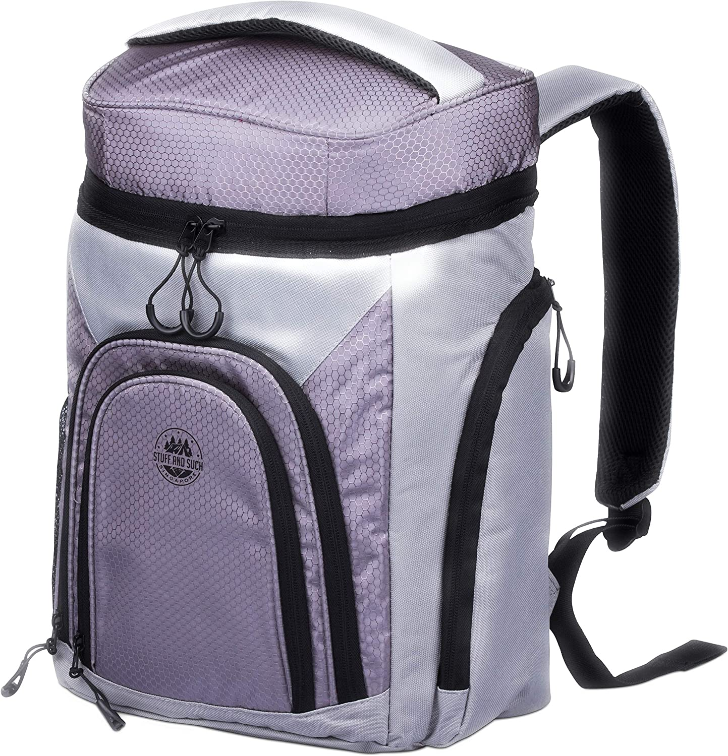 Leakproof Cooler Backpack – with 2 Cooler Compartments for the Outdoors.