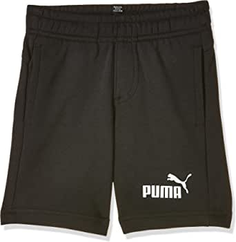 PUMA ESS Sweat Shorts B - Pantalones Cortos Niños