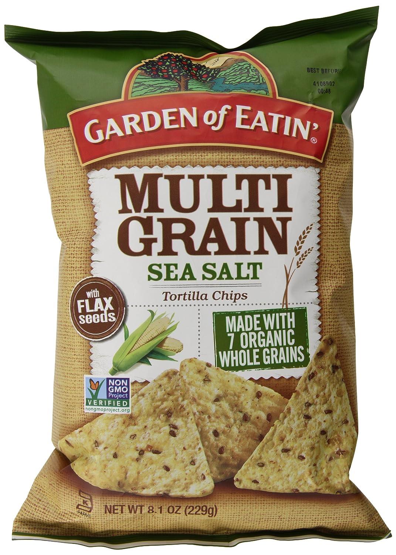 Garden of Eatin Tortilla Chips, Multigrain Sea Salt, 8.1 Ounce