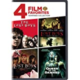 4 Film Favorites: Vampires (The Lost Boys, Lost Boys: The Thirst, Lost Boys: The Tribe (Uncut), Queen of the Damned)