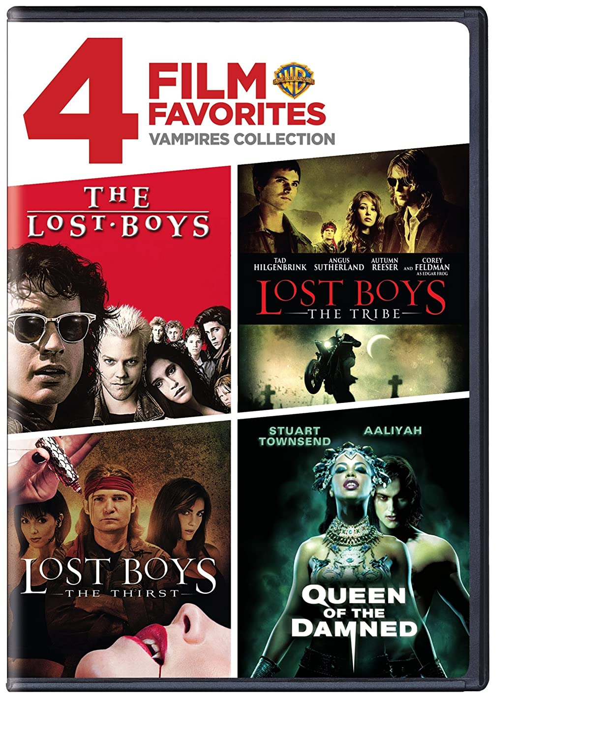 Amazon Com 4 Film Favorites Vampires The Lost Boys Lost Boys The Thirst Lost Boys The Tribe Uncut Queen Of The Damned Movies Tv