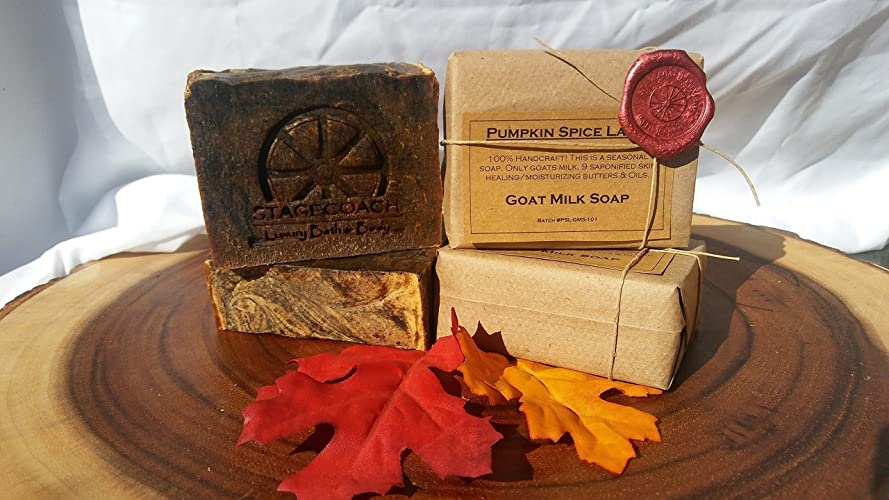 "Goat Milk Soap ""Pumpkin Spice Latte"" 5-6oz"