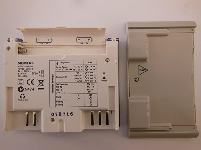 Siemens rev23 enchufe programable termostato: Amazon.es: Bricolaje y herramientas