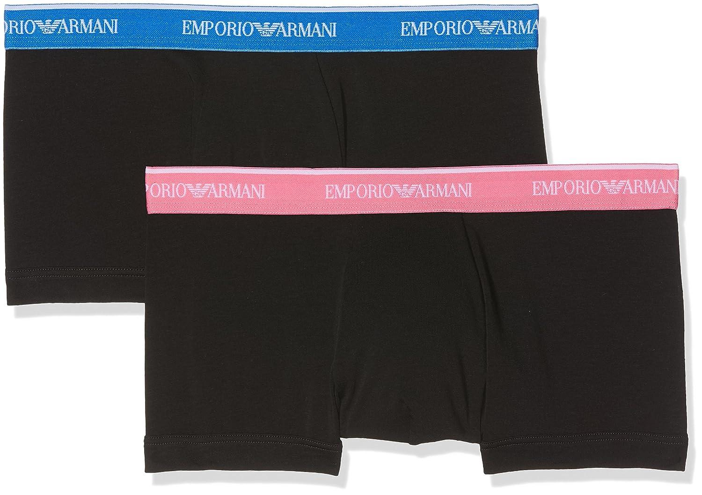 Emporio Armani Herren Hipster, 2er Pack Emporio Armani Underwear 111210 8P717