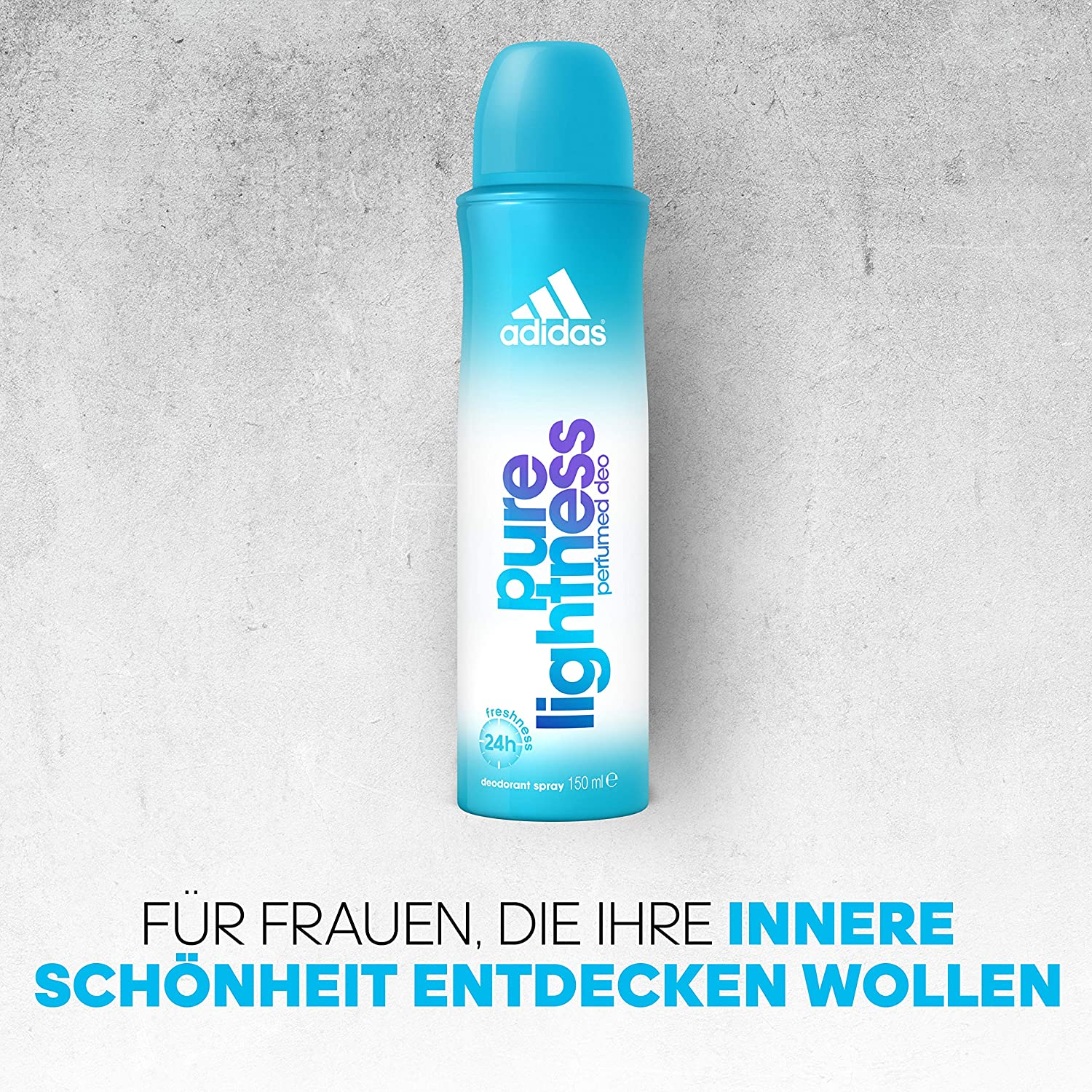 adidas Pure Lightness Deospray für Damen, 150 ml