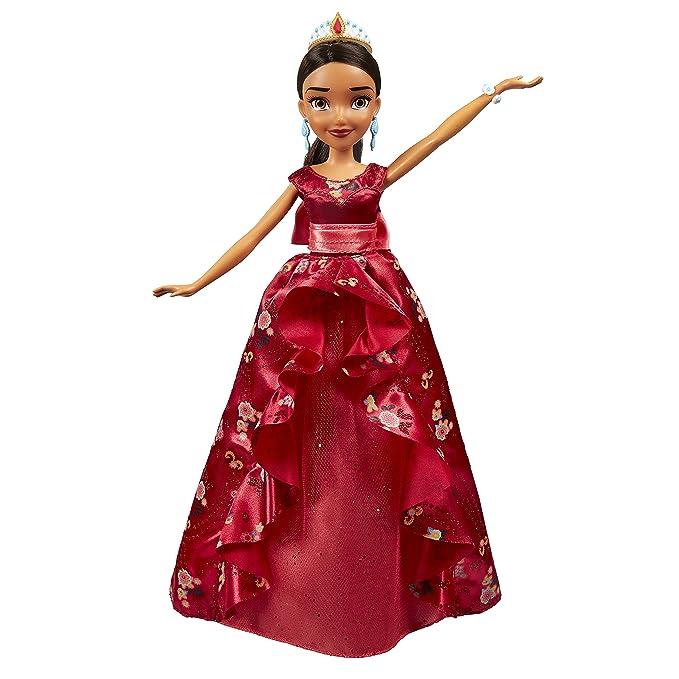 Amazon.es: Disney Girls - Muñeca Elena vestido coronación (Hasbro B7370EU4): Juguetes y juegos