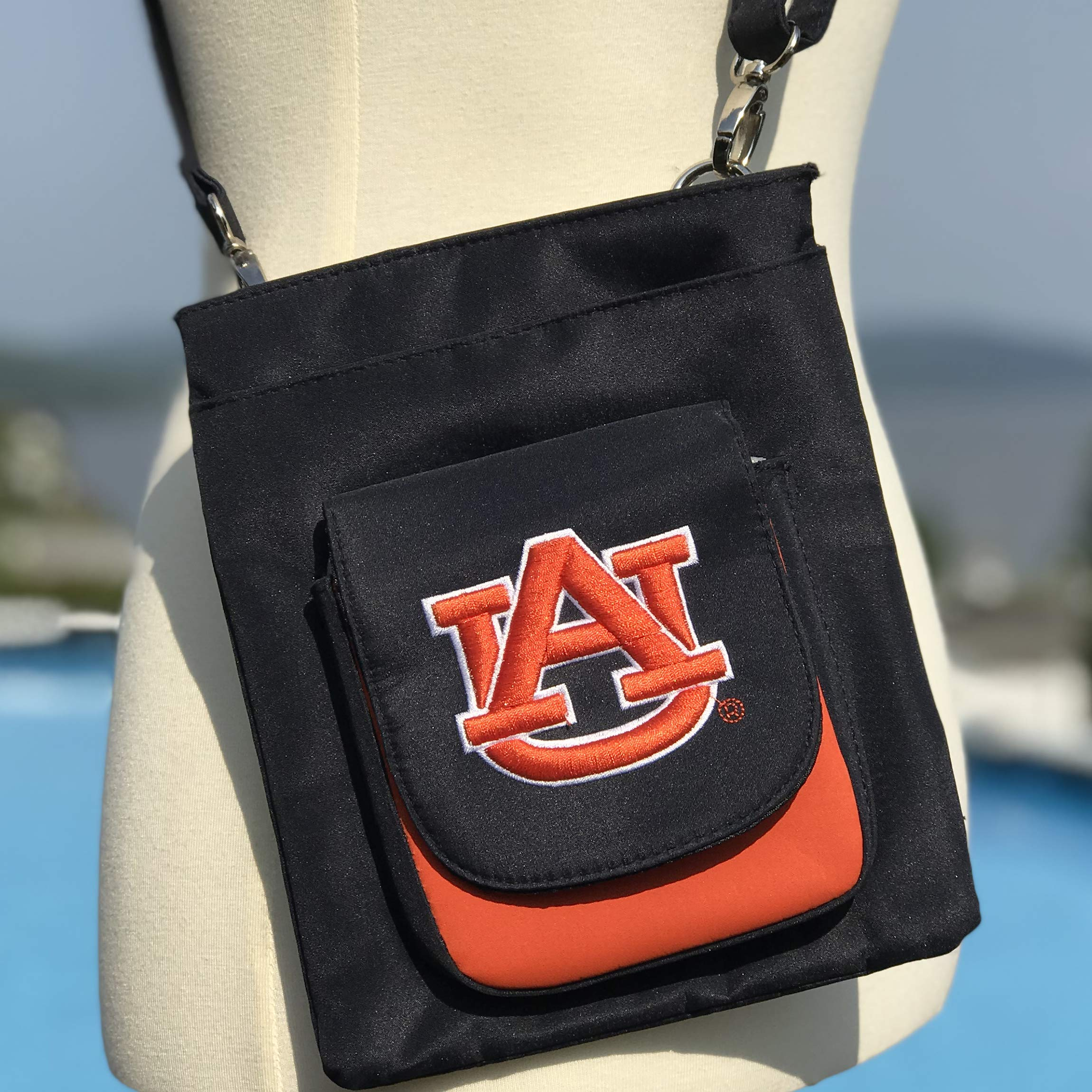 NCAA Auburn Tigers Crossbody Purse-Handbag-Travel