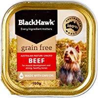 Black Hawk - Grain Free, Wet Dog Food, Beef, 100g
