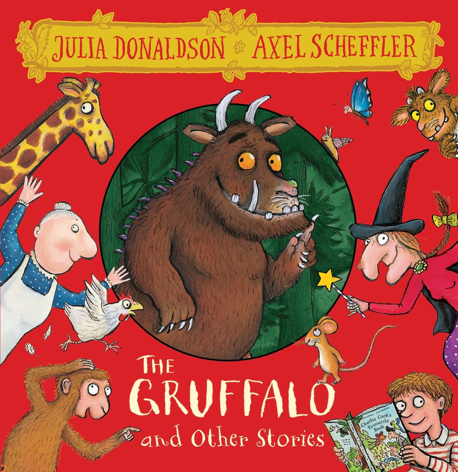 The Gruffalo and Friends. 8 CDs: The Gruffalo / The Smartest Giant / A Squash and a Squeeze / Room on the Broom / The Snail and the Whale / Monkey Puzzle: