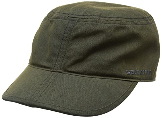 Salomon Military Flex, Gorra Hombre, Marrón (Walnut), Talla única ...
