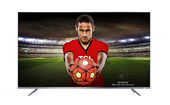 TCL 43DP648 43 Inch 4K Ultra HD TV with Freeview Play, Silver