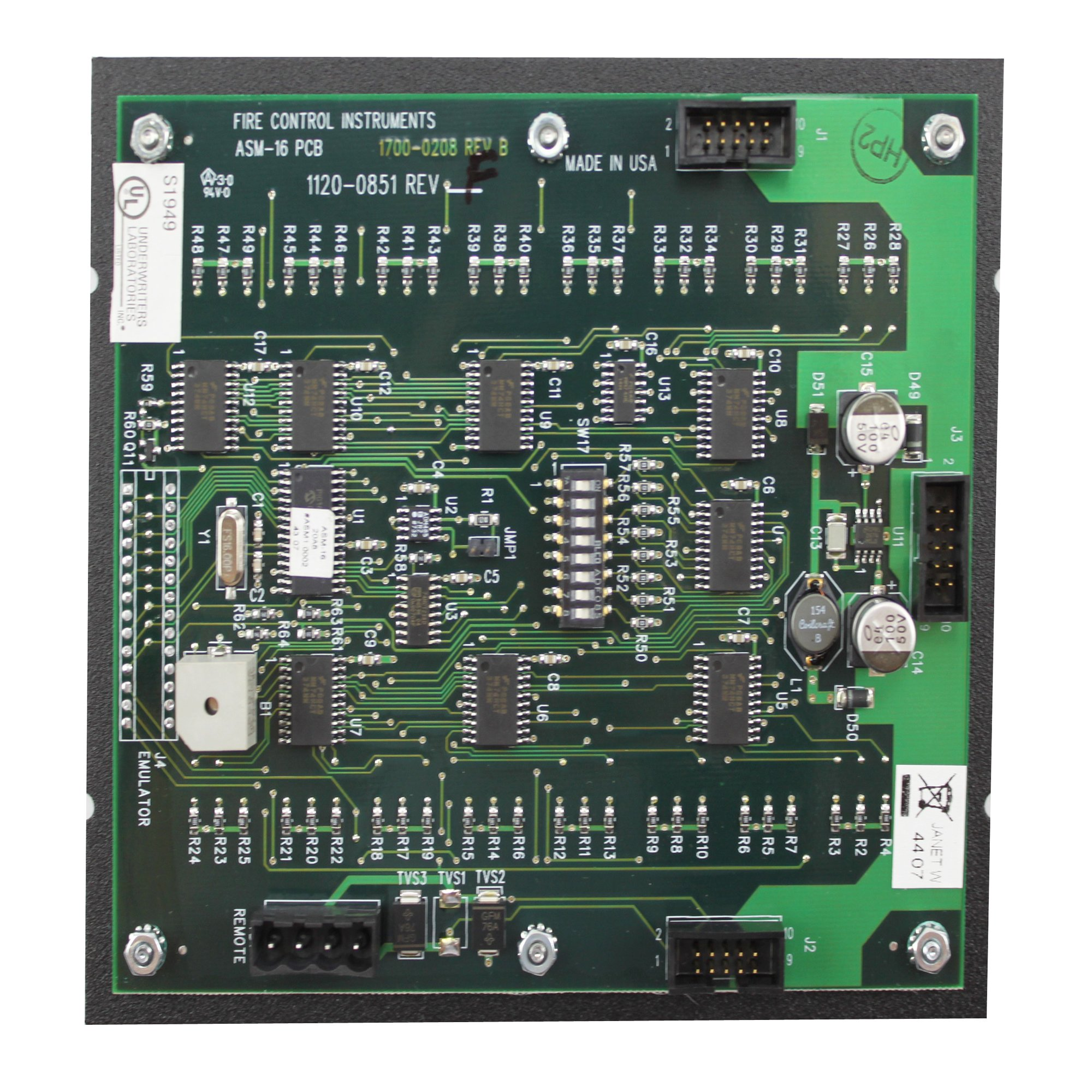 FCI 1100-0455 ASM-16 Addressable Programmable Switch Module