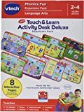 VTech Touch and Learn Activity Desk Deluxe Expansion Pack-Phonics Fun, Deluxe Phonics Fun