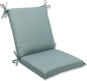 Pillow Perfect Outdoor/Indoor Sunbrella Canvas Spa Square Corner Chair Cushion, 36.5