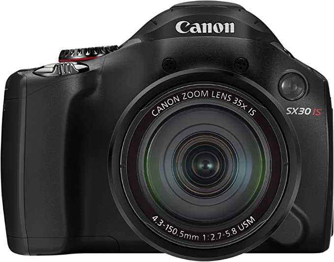 Canon PowerShot SX30 IS - Cámara Digital compacta de 14.1 MP ...