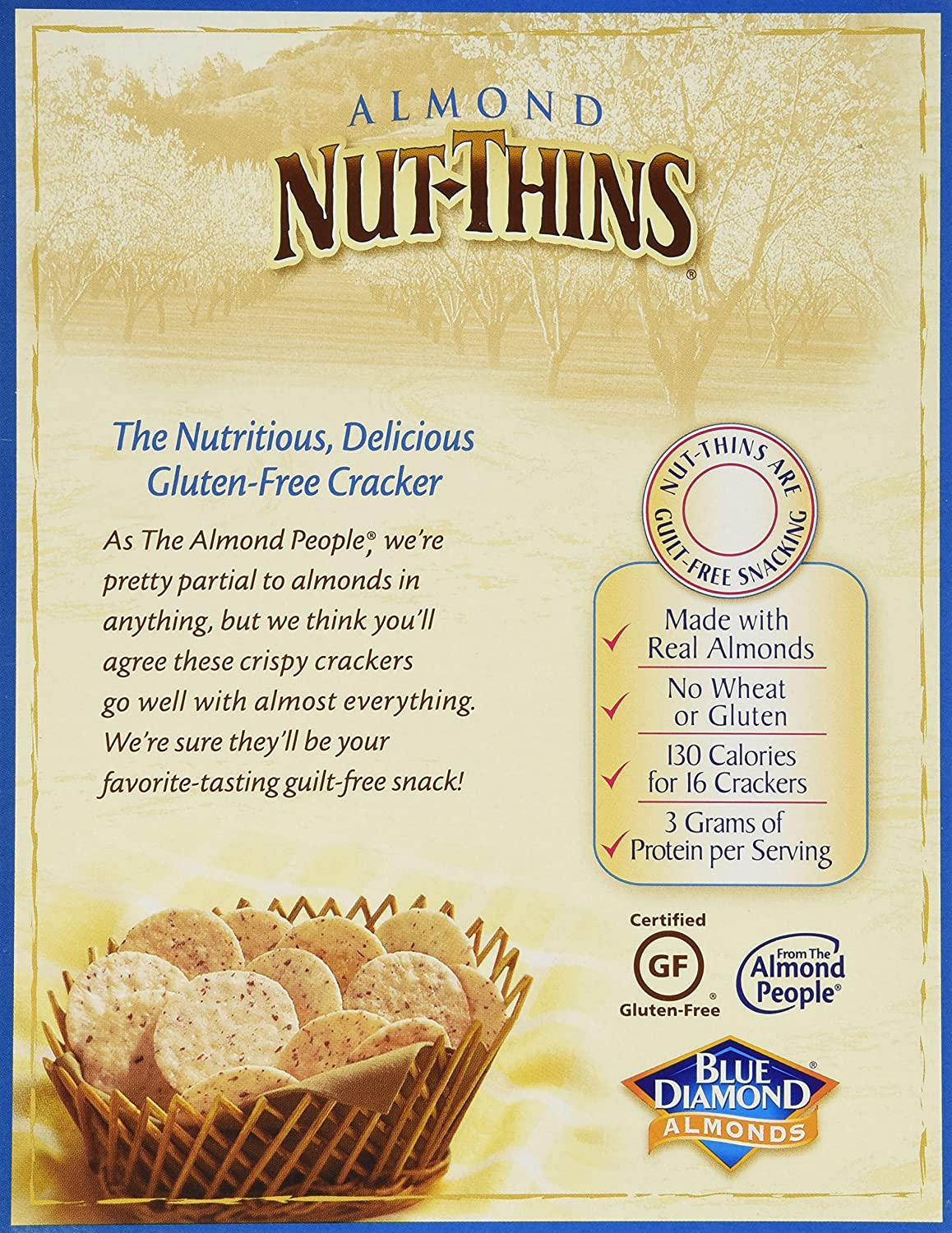Amazon blue diamond nut thins cracker snacks almond 425 amazon blue diamond nut thins cracker snacks almond 425 ounce boxes pack of 12 grocery gourmet food solutioingenieria Gallery