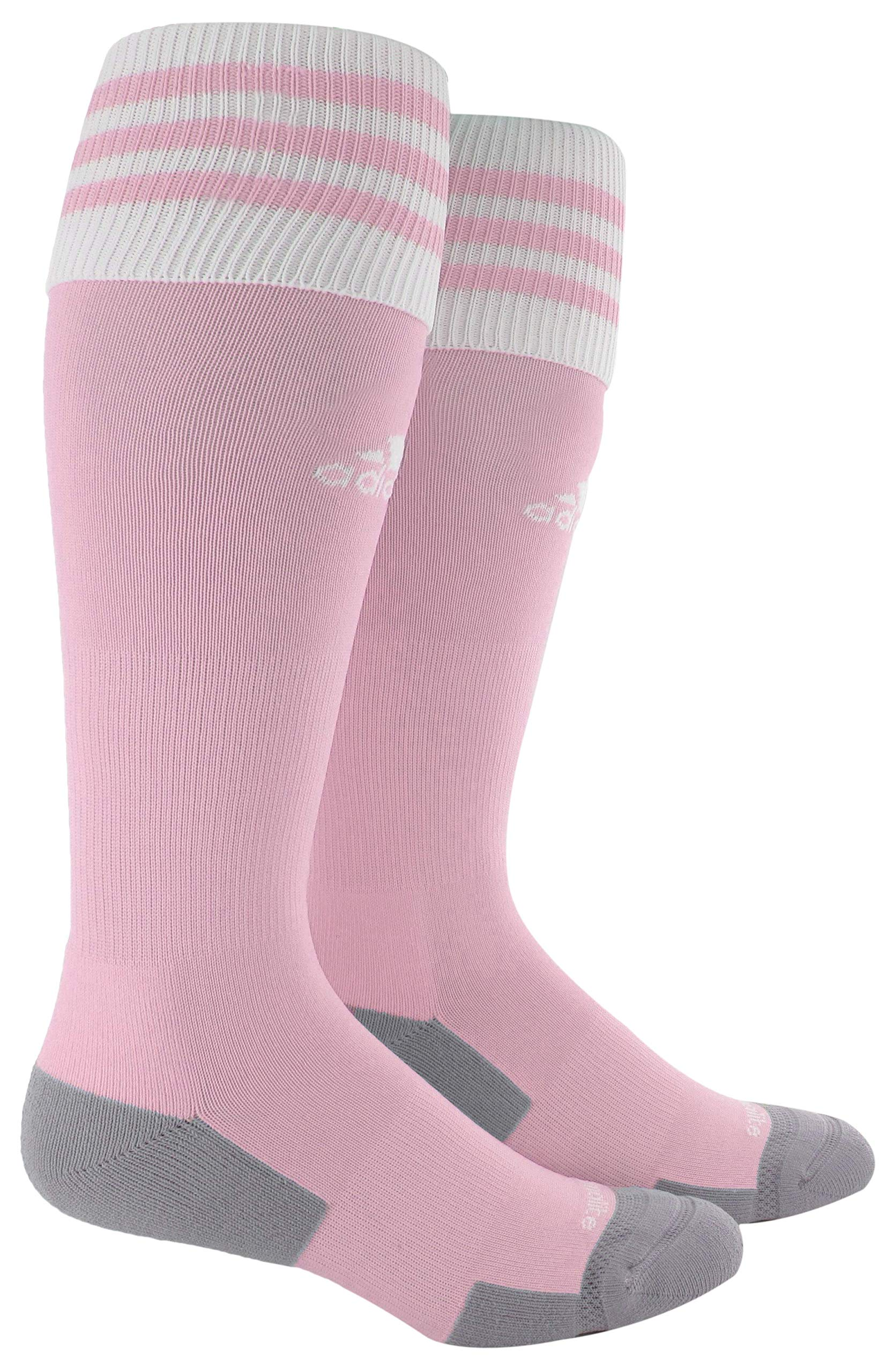 adidas Unisex Copa Zone Cushion II Soccer Sock (1-Pair), Diva/White, 5-8.5 by adidas
