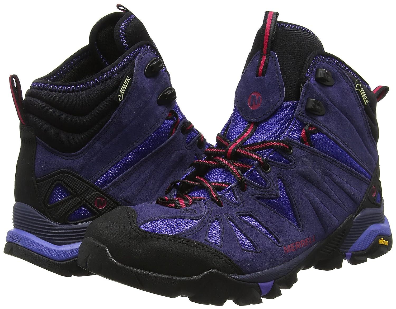 Merrell Damen Capra Mid Gore-tex Trekking- & Wanderhalbschuhe grau 37 37 37 EU b95ccd