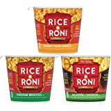 Quaker Rice A Roni Cheesy Cups Variety Pack
