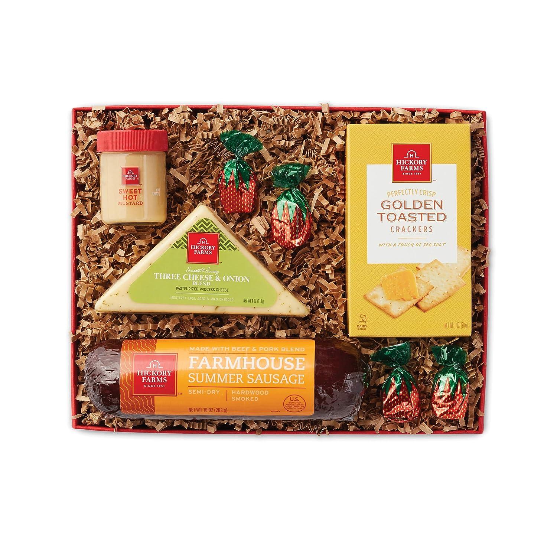 Hickory Farms Savory Sausage and Cheese Sampler Gift Set (1.07 Lbs)