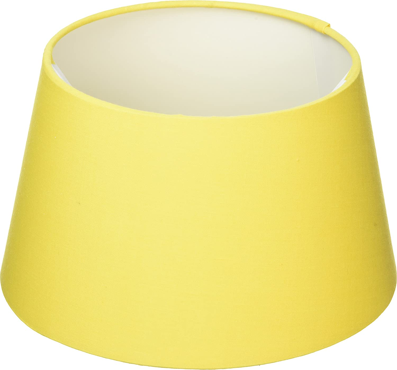 Oaks Lighting Abat-jour tambour en coton 20/cm