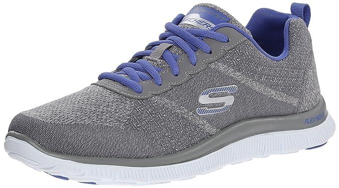 0d7080c2 skechers Flex Appeal- Simply Sweet - Zapatillas de Deporte para Mujer:  Skechers: Amazon.es: Zapatos y complementos