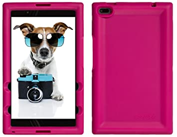 BobjGear Carcasa Resistente para Tablet Lenovo Tab 4 8 Inch, TB-8504F, TB-8504X (No para Tab 4 8 Plus TB-8704) - Bobj Funda Protectora (Rosa)