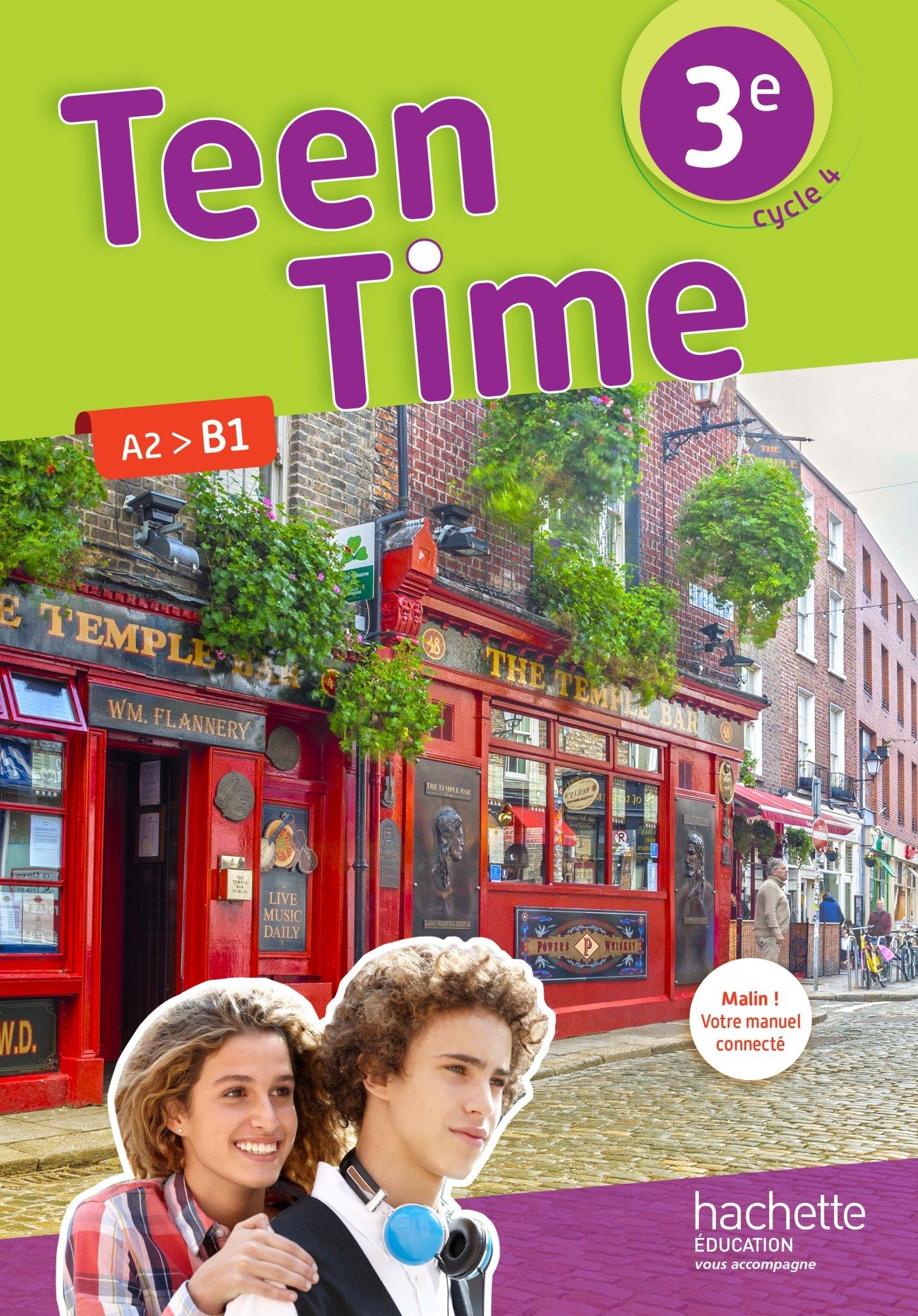 Anglais Cycle 3e Lv1 Cycle 4 Teen Time Livre De L Eleve