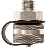 ValvoMax Oil Drain Valve - No Tools, No Mess, Fast Drain - for M12-1.25