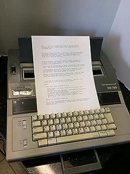 Smith Corona eléctrico máquina de escribir modelo SD 760