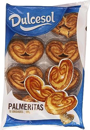 Dulcesol Palmeritas - Producto de pasteleria y repostería 180 gr ...