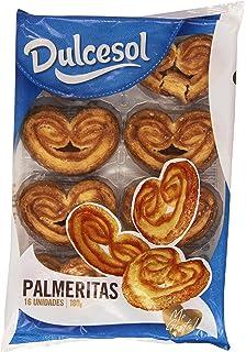 Dulcesol Palmeritas - Producto de pasteleria y repostería - (16 unidades) 180 g