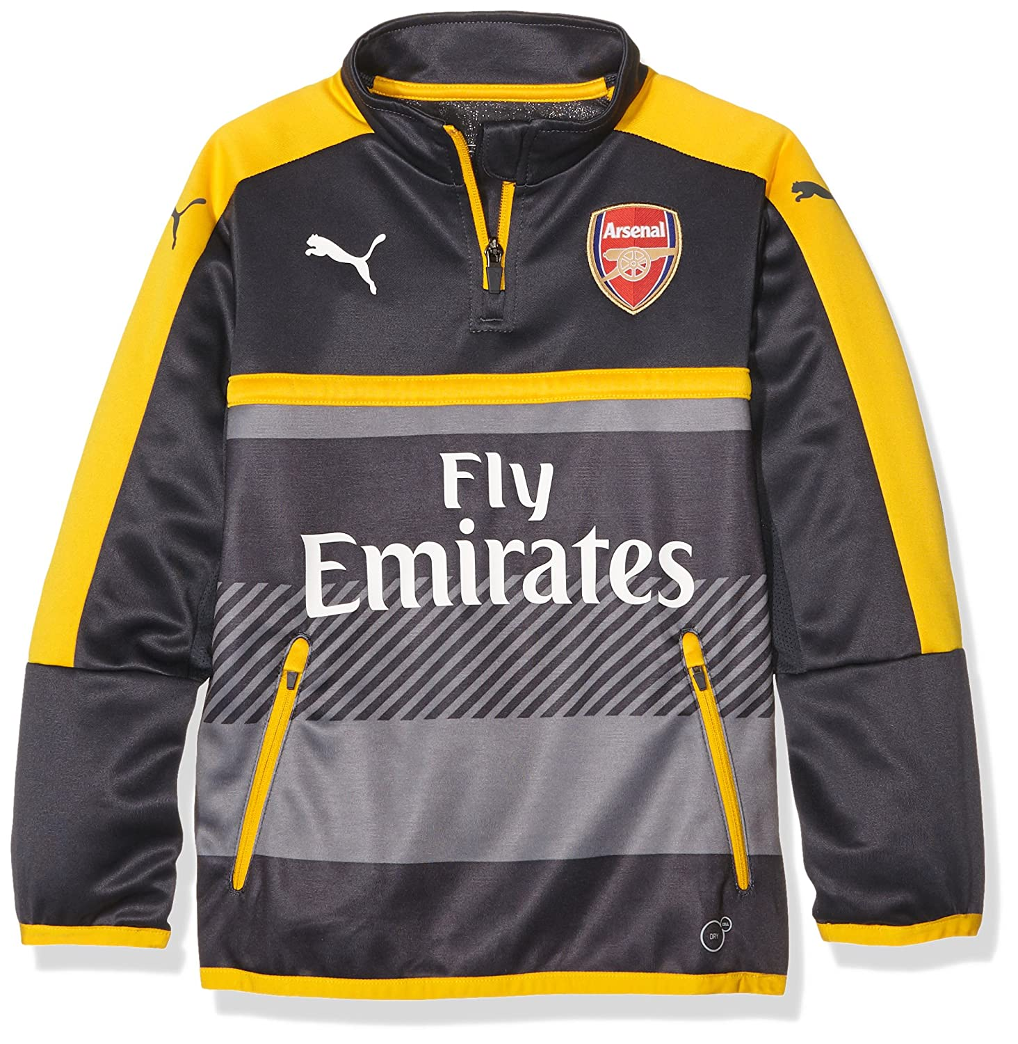 Puma Kinder Jacke AFC 1 4 Training Top-Sales with 2 Side Pockets Zip