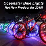 Bicycle Wheel Lights - Ultra Bright Waterproof LED by Oceanstar