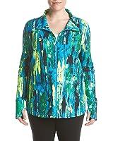 685c1f685b Exertek Petites' Solid Color Full Zip Jacket at Amazon Women's ...