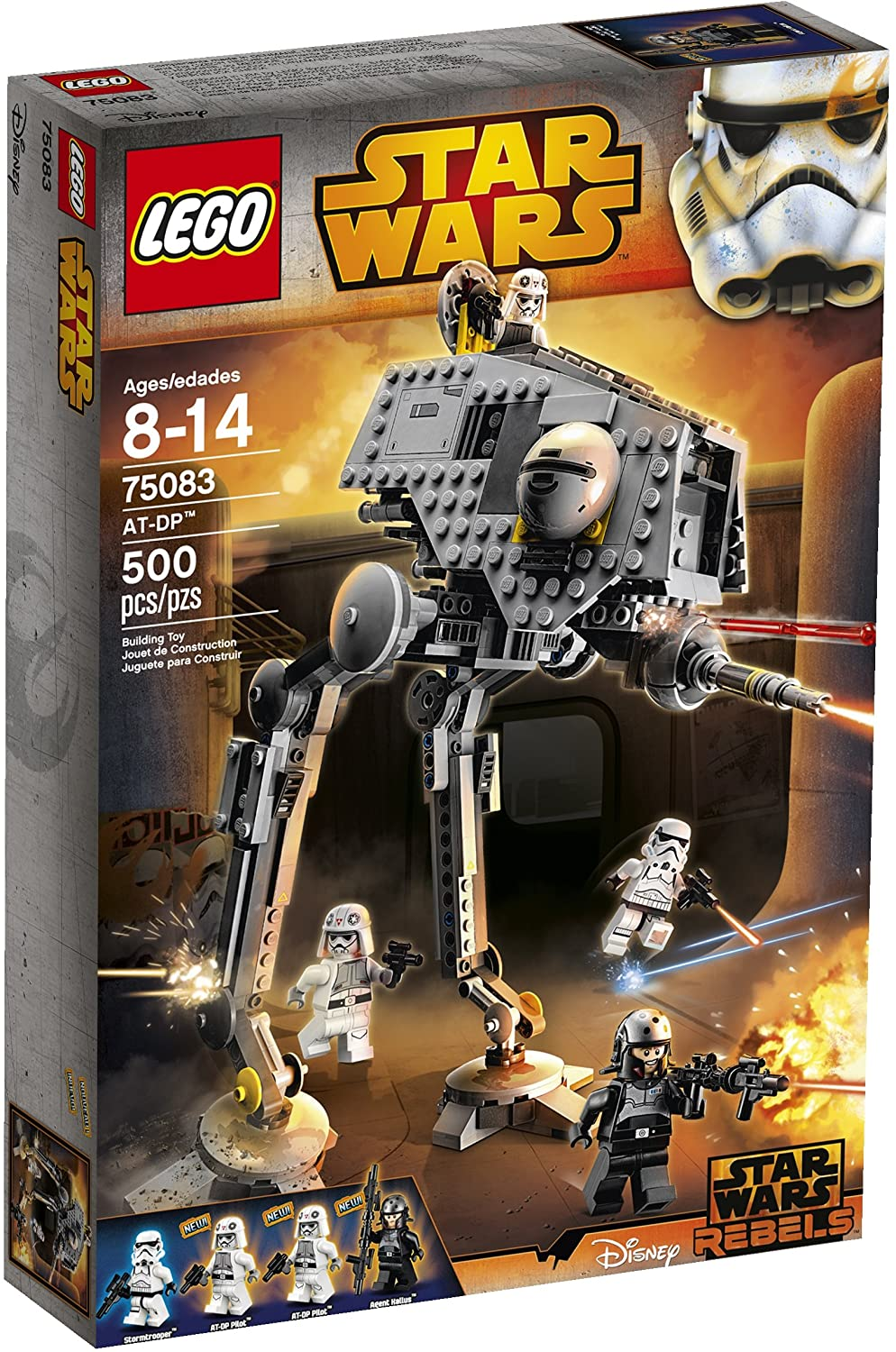 LEGO Star Wars AT-DP Toy (Discontinued by manufacturer)