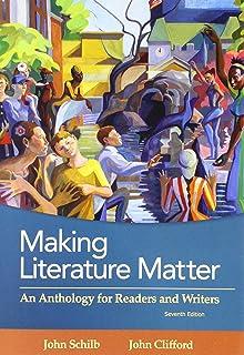 Amazon making literature matter an anthology for readers and making literature matter an anthology for readers and writers fandeluxe Image collections