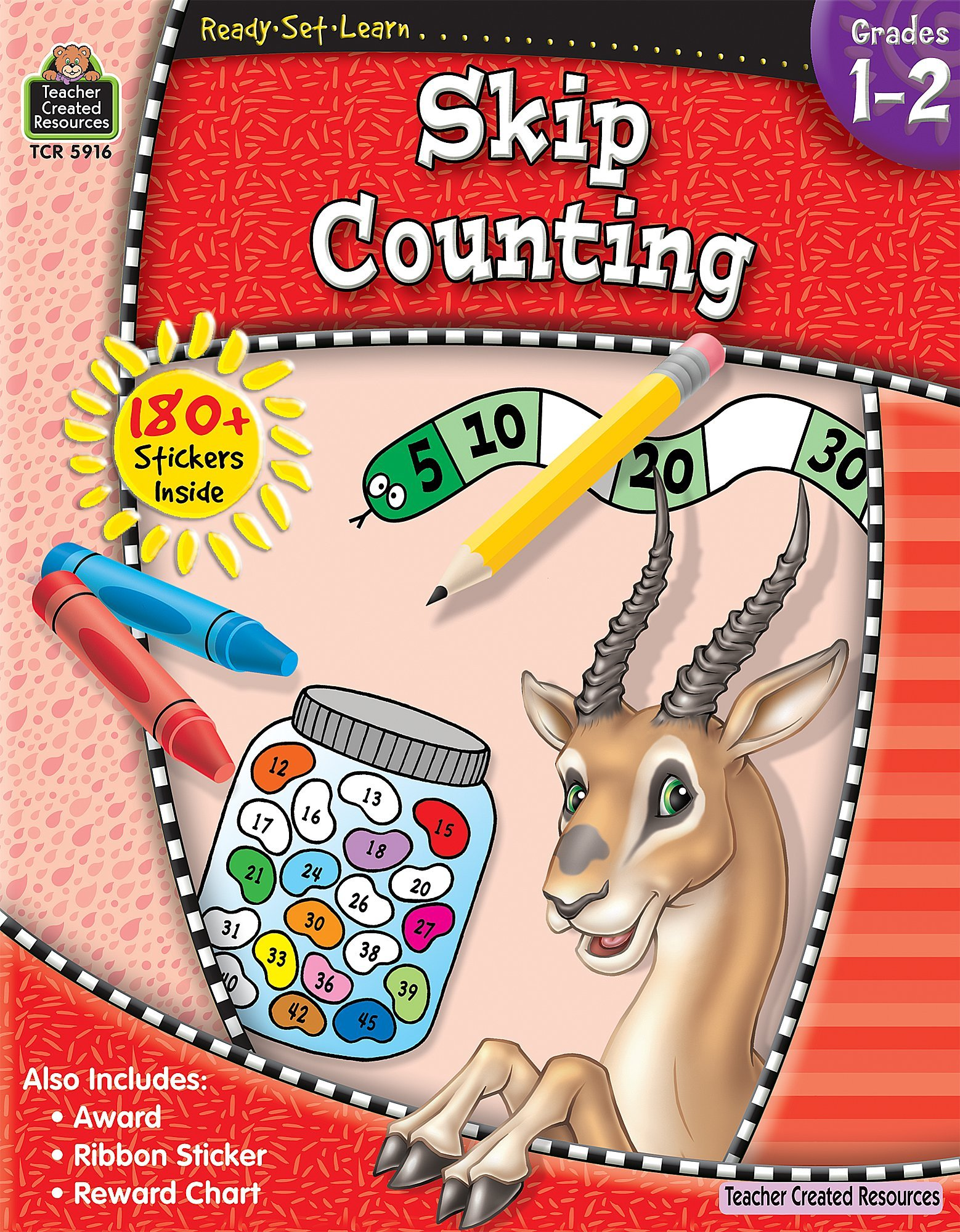 Ready-Set-Learn: Skip Counting Grd 1-2 Paperback – Jun 30 2009 Teacher Created Resources 1420659162 TCR5916 Armed Forces
