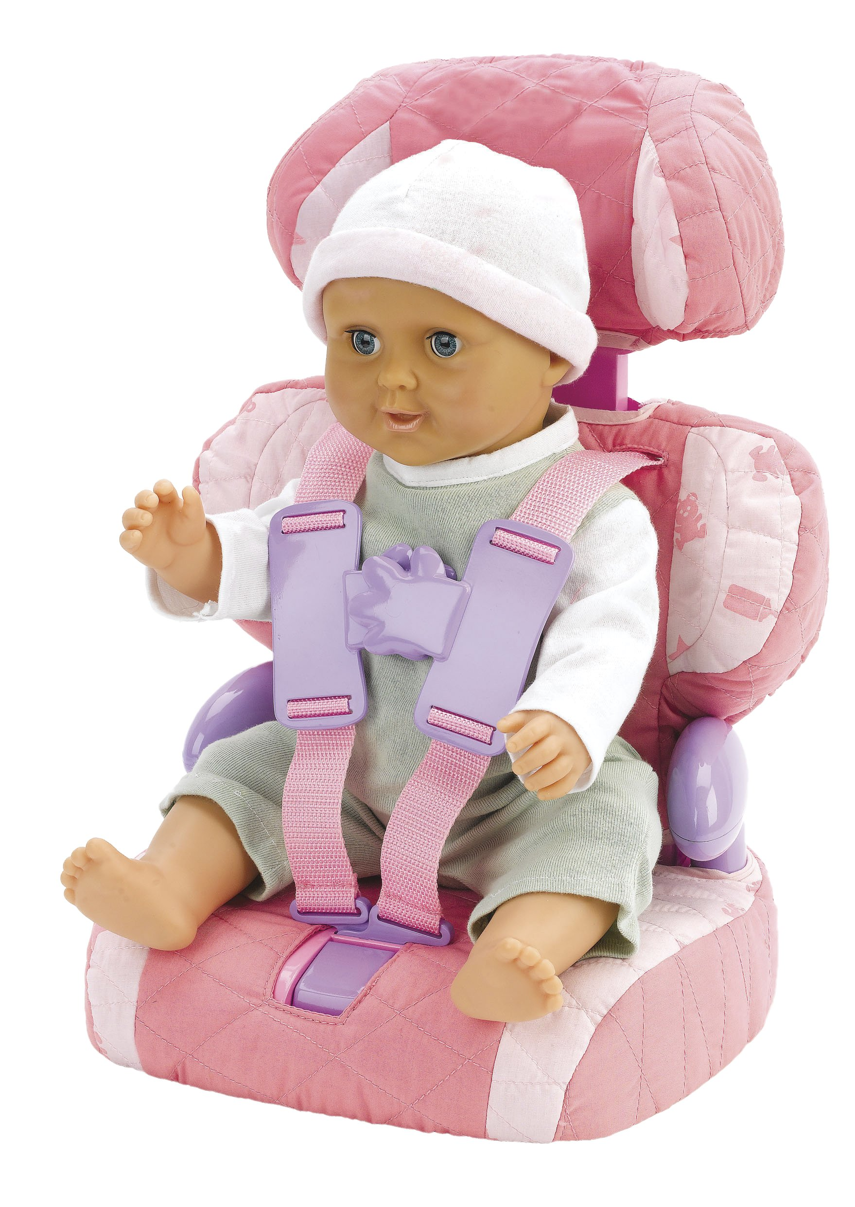 Casdon Baby Huggles Doll Car Booster Seat - Bring Your Favorite Friend for a Ride!