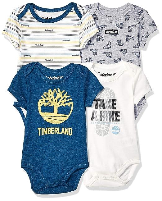 Timberland Conjunto de 4 Piezas para bebé: Amazon.es: Ropa