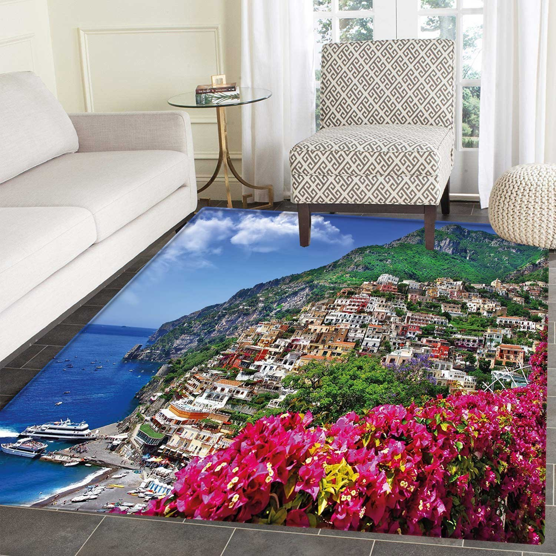Amazon Com Italy Dining Room Home Bedroom Carpet Floor Mat Scenic